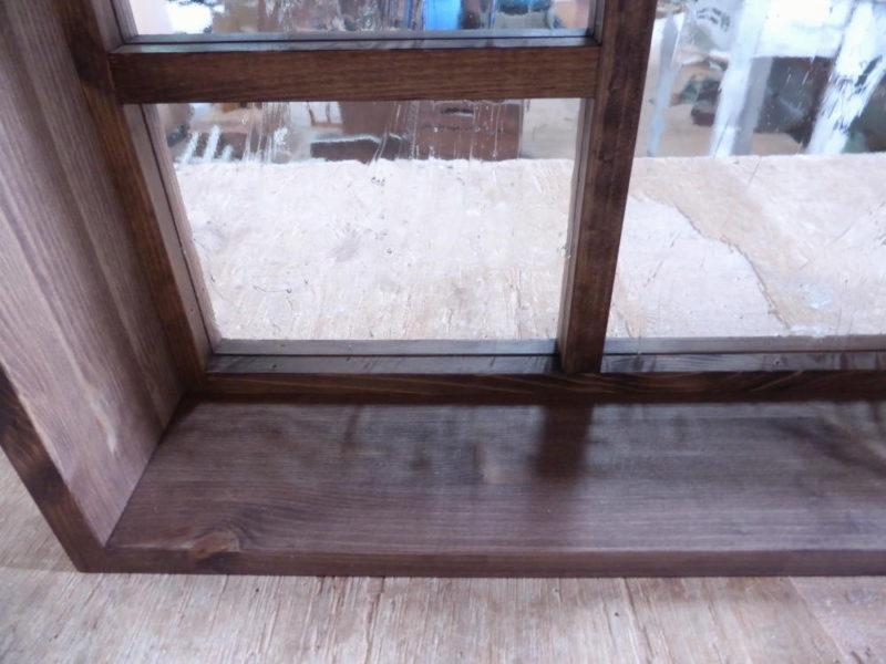 FIX窓・内側(泡入りガラス)