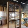 アンティーク調ガラスのオーダーメイドFIX窓/okamoku