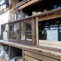 キッチン引き分け窓(木製・オーダー)/okamoku