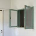 観音開き室内窓・アンティークペイント仕上げ