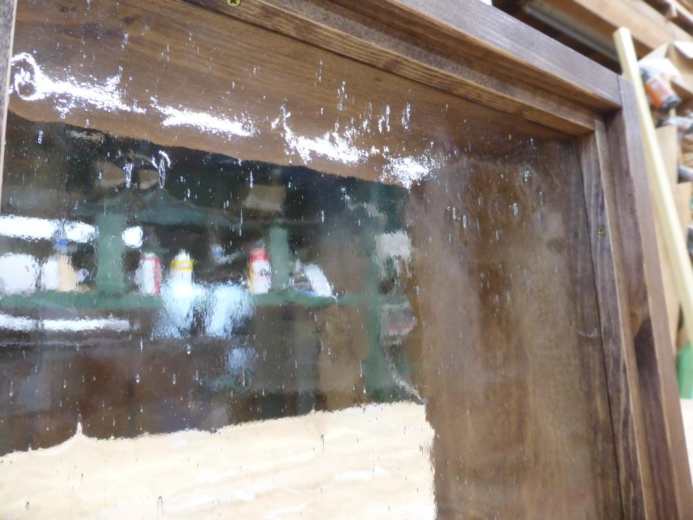 FIX窓(気泡ガラス、オーダー、okamoku)