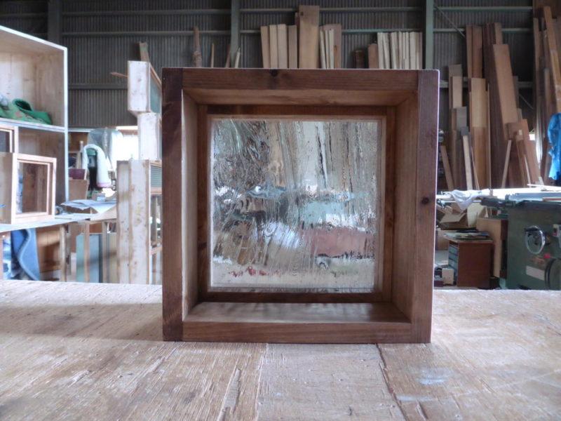 FIX窓・泡入りガラス(内側正面)