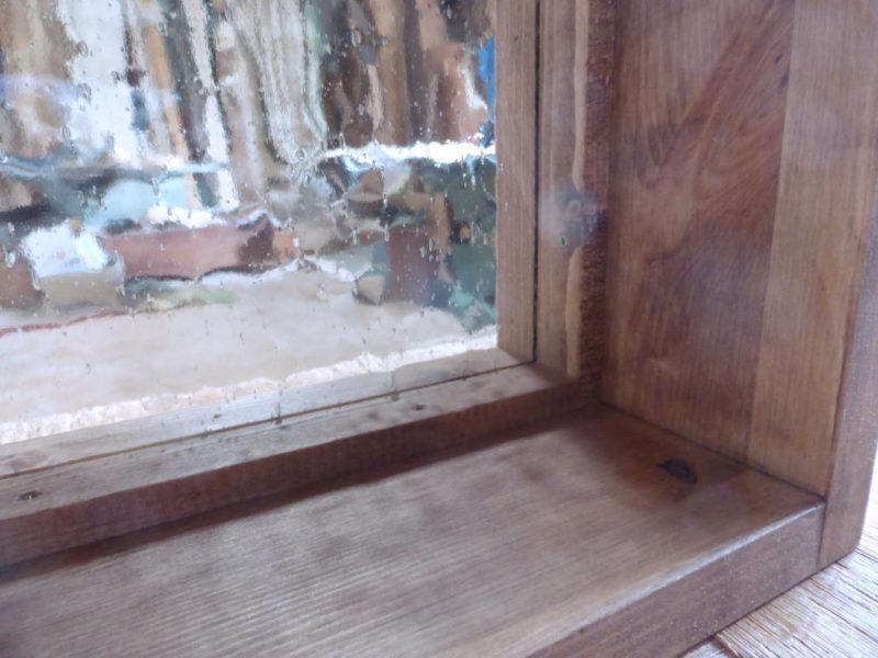 気泡ガラス(内側下)