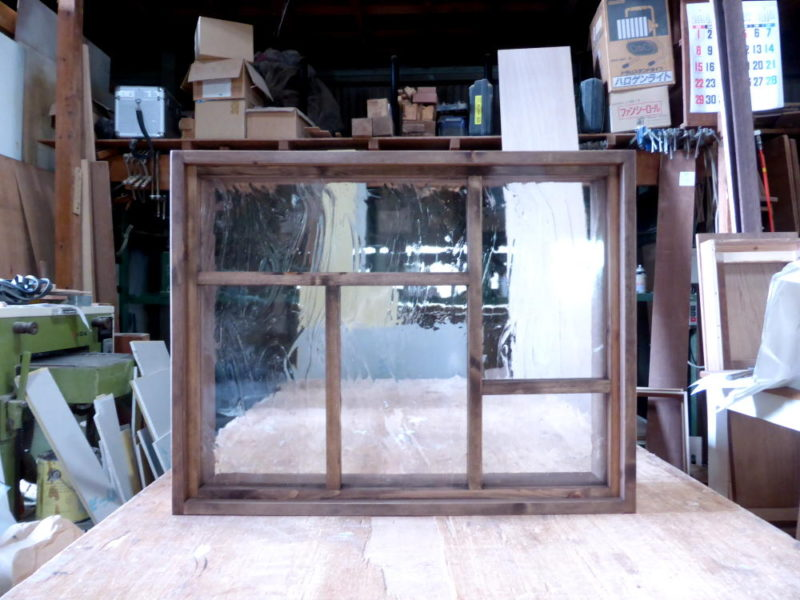 室内窓 オーダー・FIX窓(外側正面)
