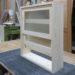 木製 上げ下げ窓(無塗装・かすみガラス)-126